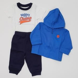 3-6m 3pc Boys Outfit - The Children's Place - NWT
